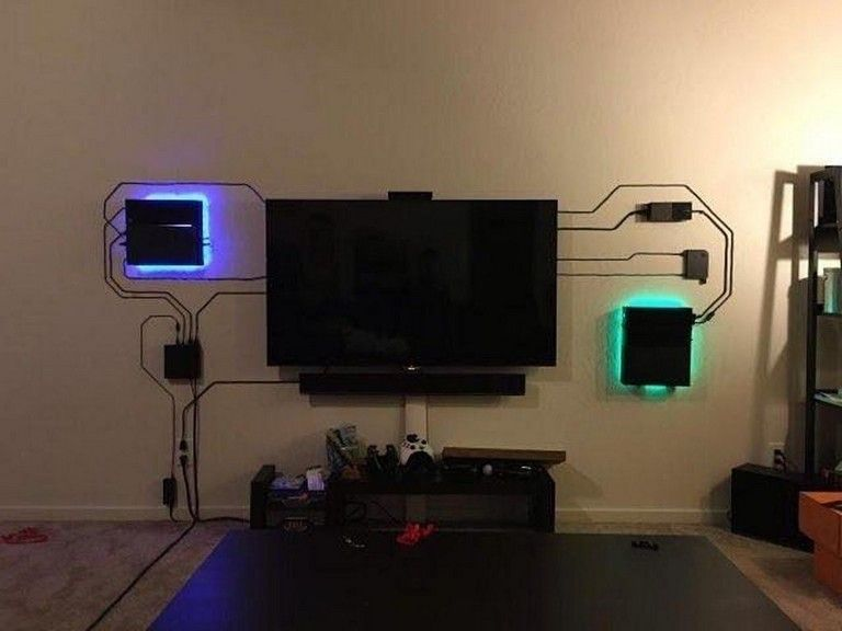 30+ Cool Ultimate Game Room Design Ideas gameroom Pinterest