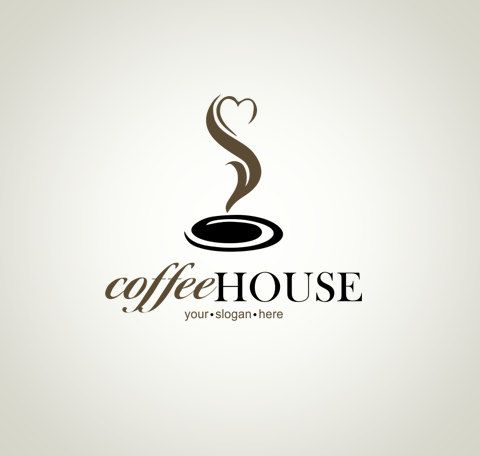 Logo Design Ooak Logo Premade Logo Watermark Coffee Logo Coffee Heart Logo Cafe Logo Coffee House Logo Food Logo Cus Coffee Logo Logo Design Coffee Shop Logo