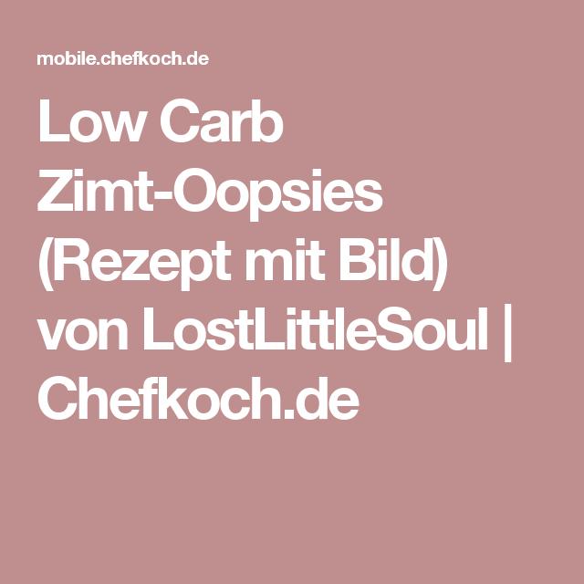 Low Carb Zimt-Oopsies (Rezept mit Bild) von LostLittleSoul   Chefkoch.de