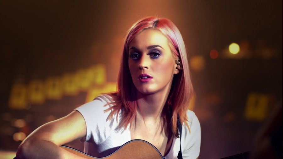 Image from Katy Perry's new movie, Katy Perry: Part Of Me