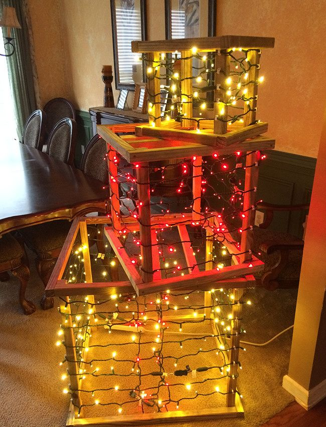 lighted presents diy step eight check light connections christmas gift box christmas and new