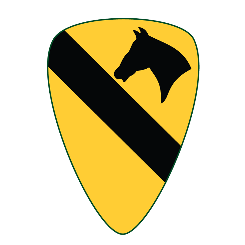 Army Cavalry Symbols | High-res vector army unit patches, symbols