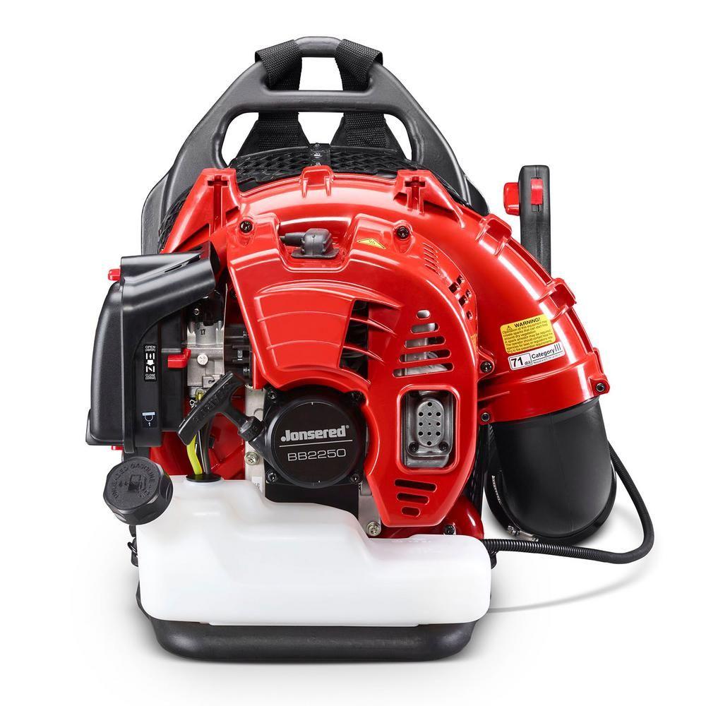 Jonsered Bb2250 251 Mph 692 Cfm 50 2cc Gas Backpack Leaf Blower 966066403 In 2020 Backpacks Leaf Blower Gas