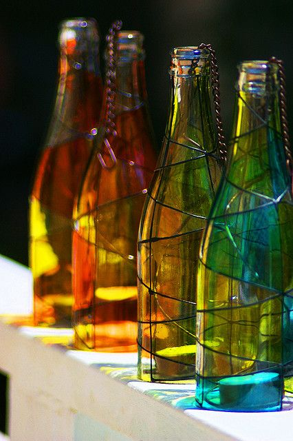 The Bottles by Fernando Farfan.ca, via Flickr