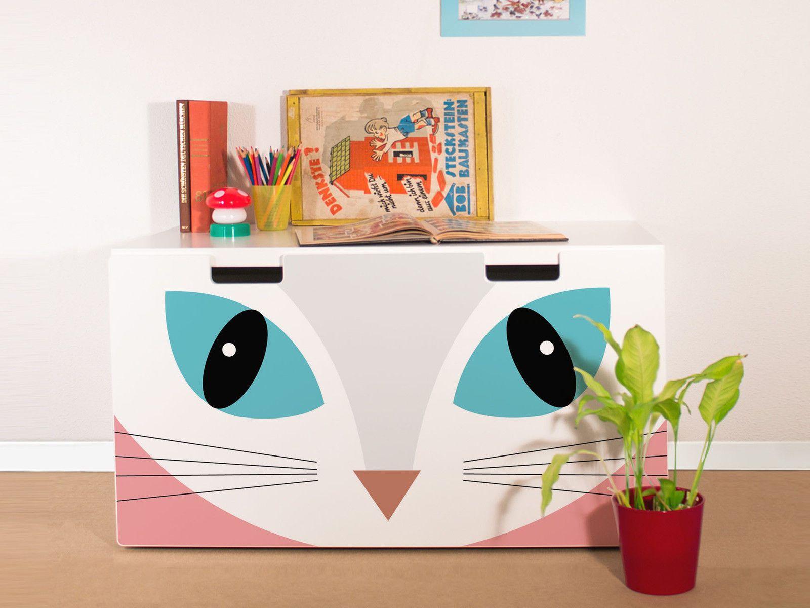 YOURDEA Aufkleber für Kinderzimmer IKEA Stuva Kommode mit Motiv