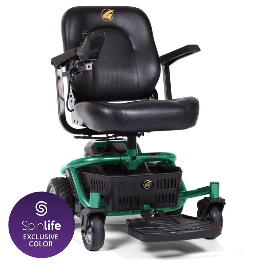 LiteRider Envy Powered wheelchair, Portable power