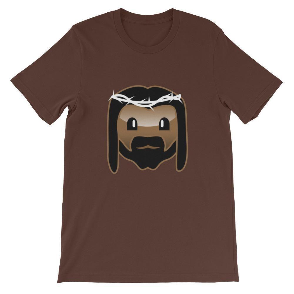 Emoji Jesus Unisex short sleeve t-shirt