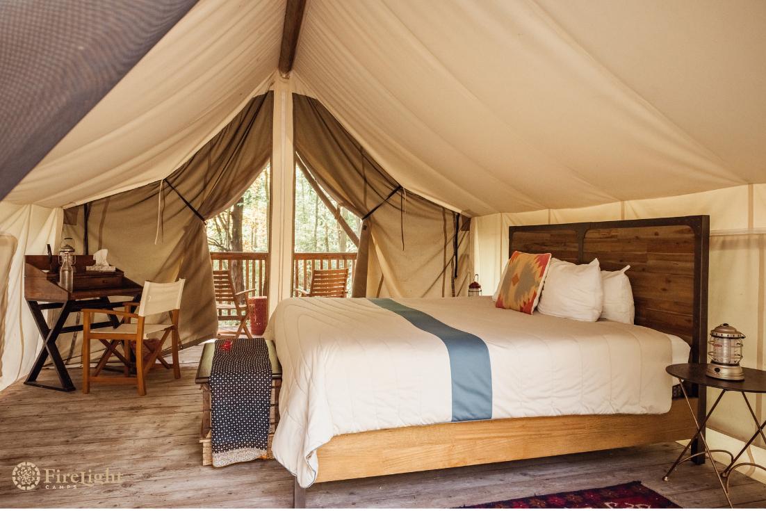 Luxury Safari Tents At #firelightcamps Include #rumpl