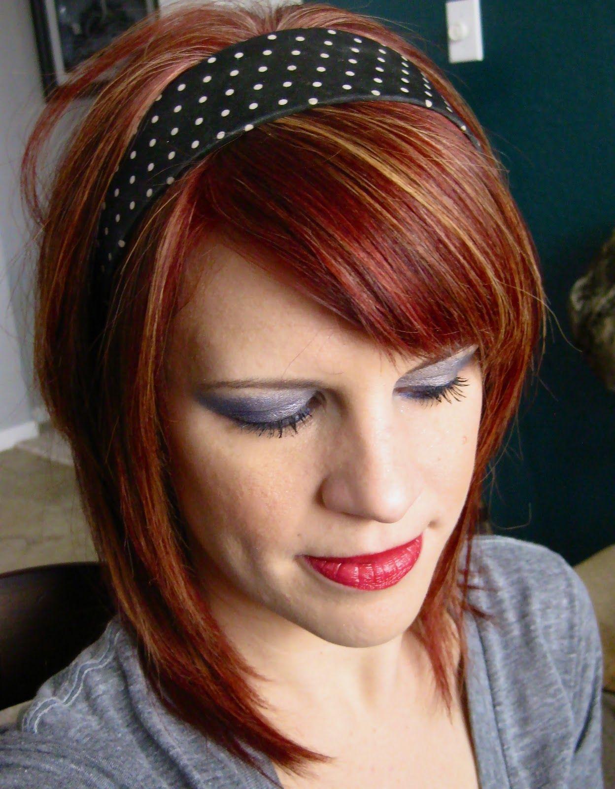 Rote frisuren mit blonden highlights blonde pinterest hair