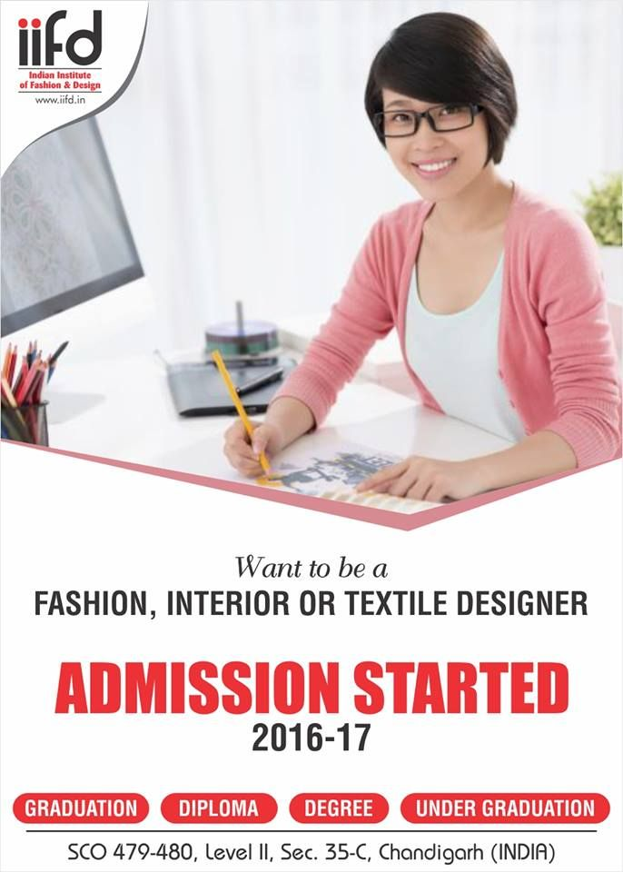 Want to be Fashion, Interior or Textile Designer? Admission - business application form