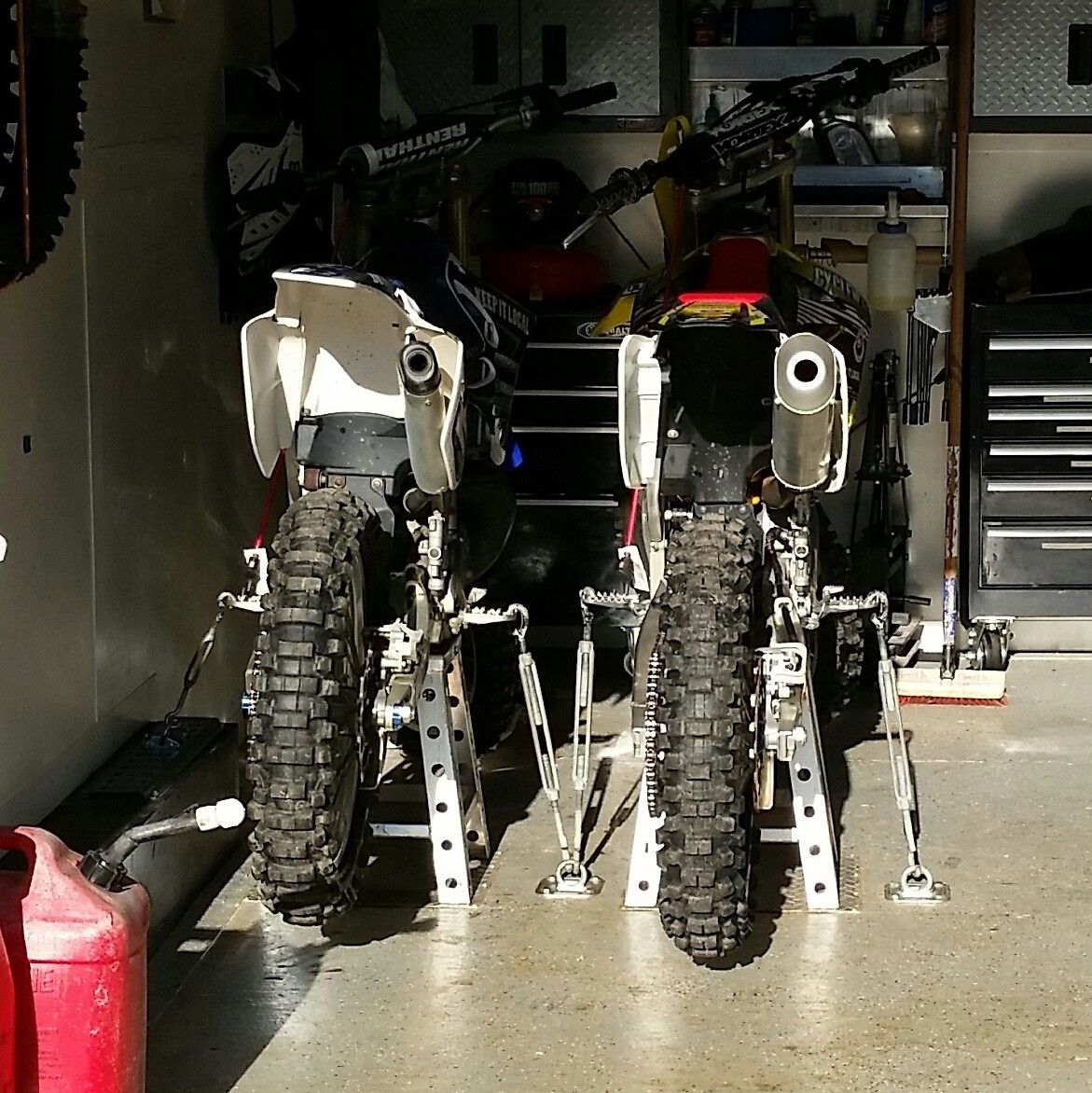 Camper Wheel Chocks >> transporting a bike without tie downs - Moto-Related ...