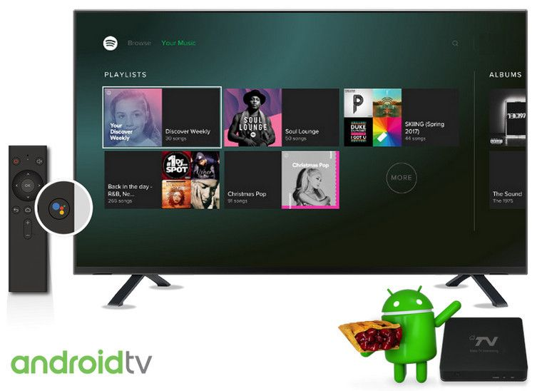 Best Two Ways to Play Spotify Music on Your Android TV