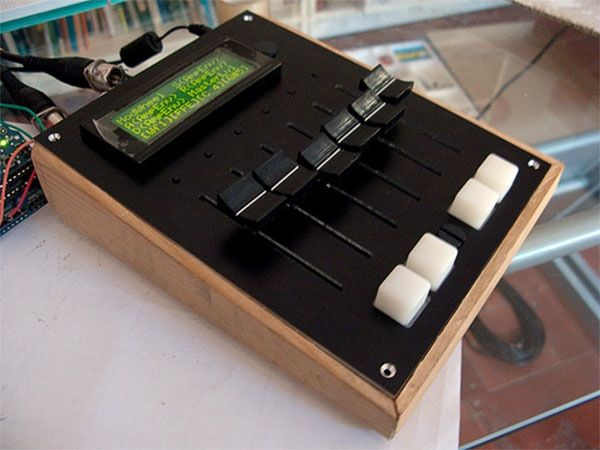 Midi fader controller with arduino wordpress