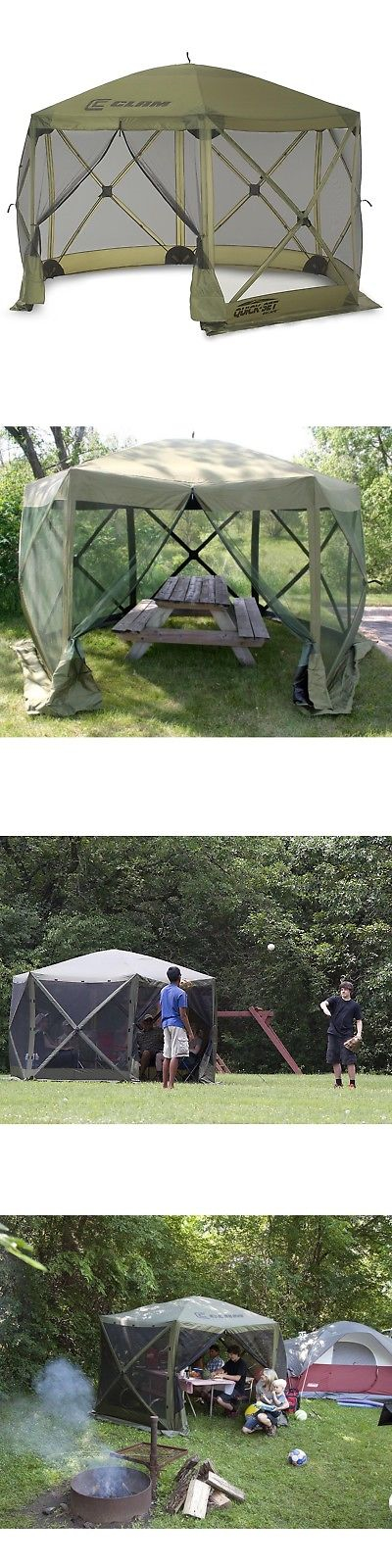 Canopies and Shelters 179011 Clam Quick Set Escape Portable C&ing Outdoor Gazebo Canopy Shelter Screen & Canopies and Shelters 179011: Clam Quick Set Escape Portable ...