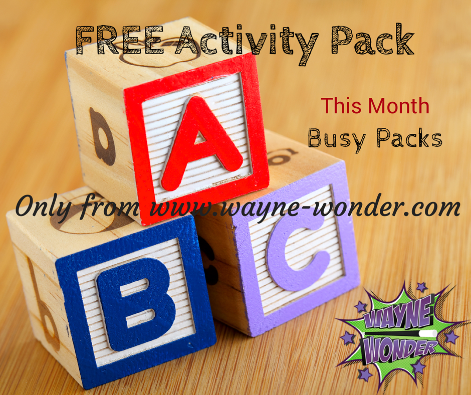 Busy Packs — Wayne Wonder Children's Parties in Buckinghamshire, Berkshire, Hertfordshire, Oxfordshire