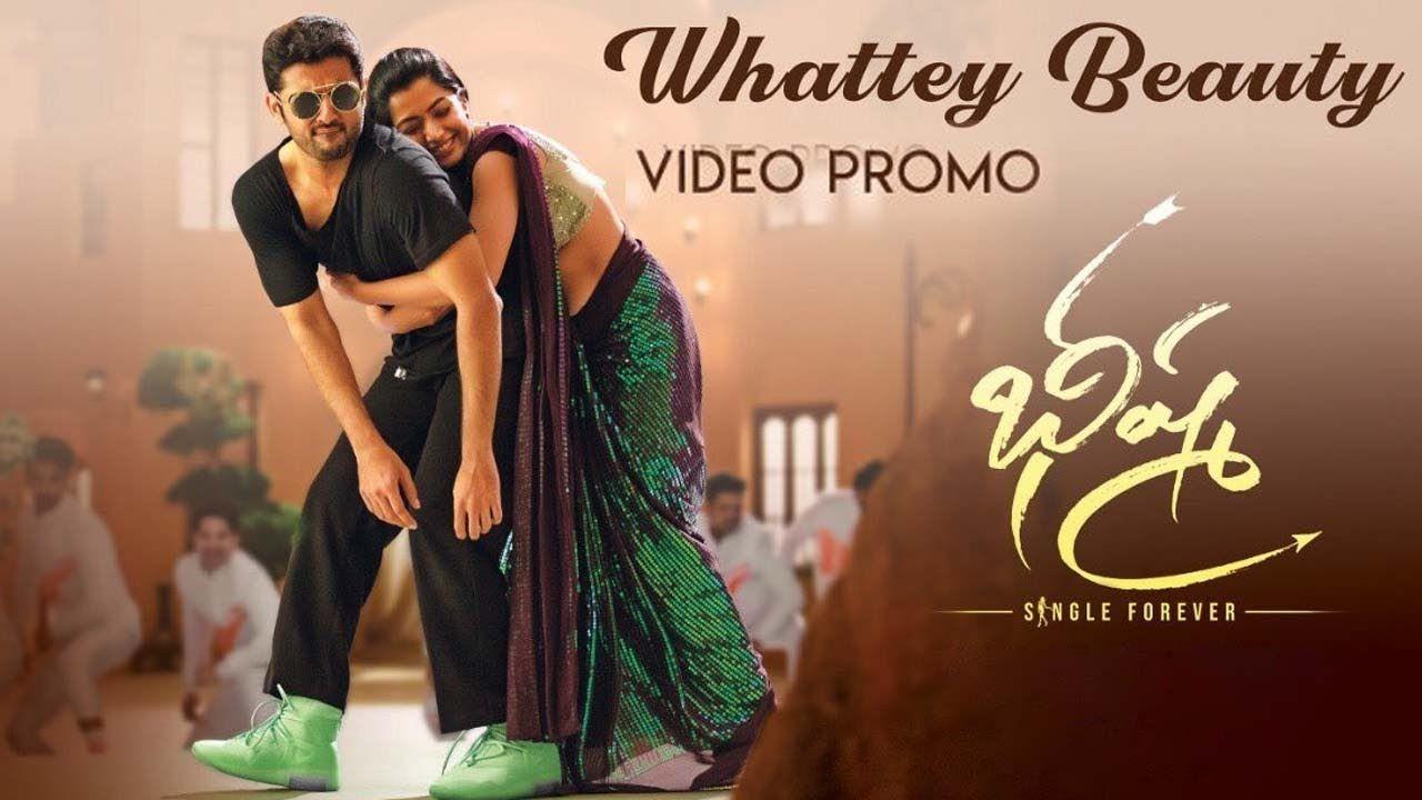 Bheeshma Whattey Beauty Video Song Nithin Rashmika Mandanna Venk In 2020 Beauty Videos Songs Beauty