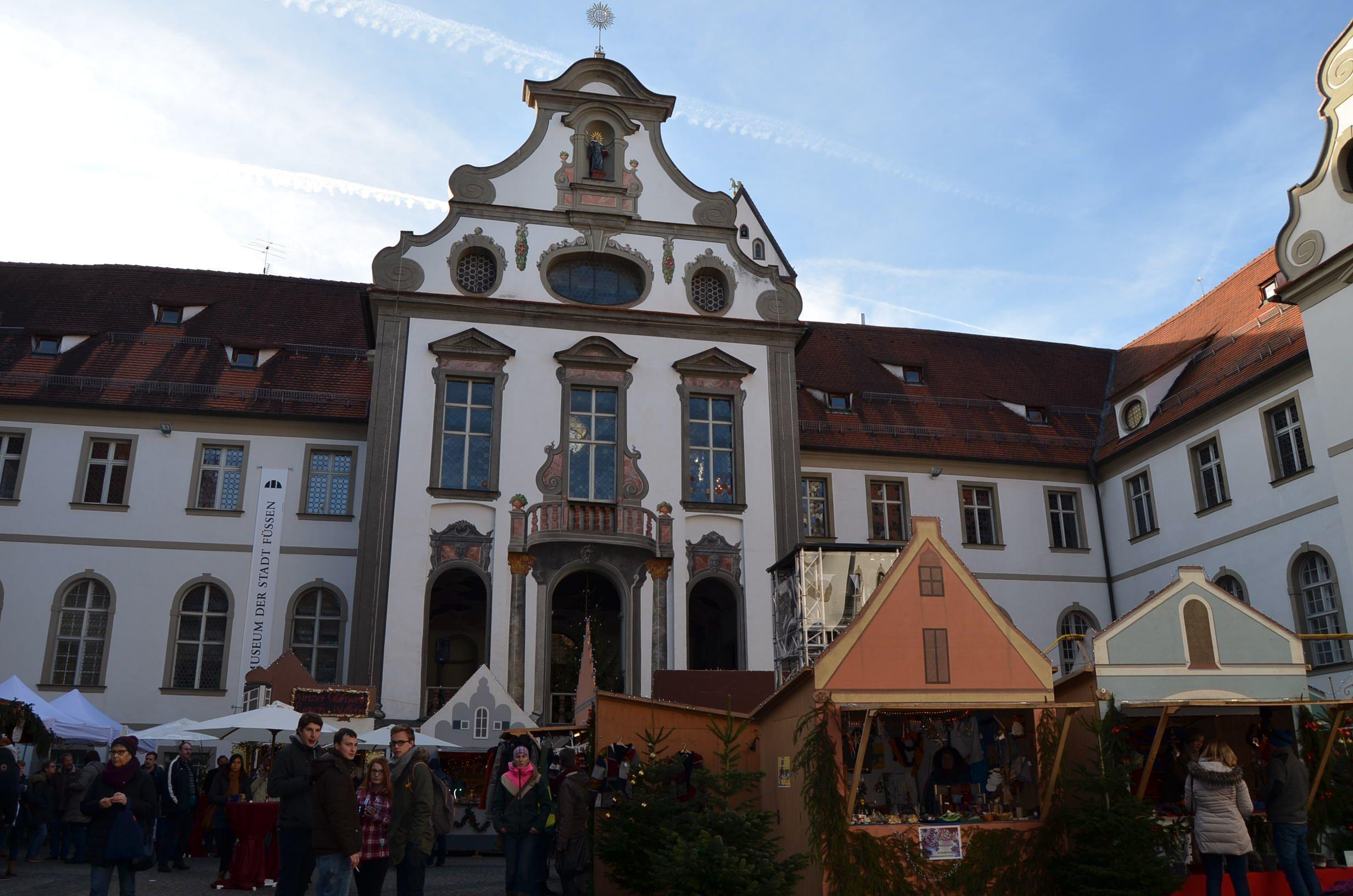 Mercado navideño Füssen