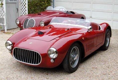 1952 Fiat Stanguellini 1100 Sport Internazionale Roadster Vintage