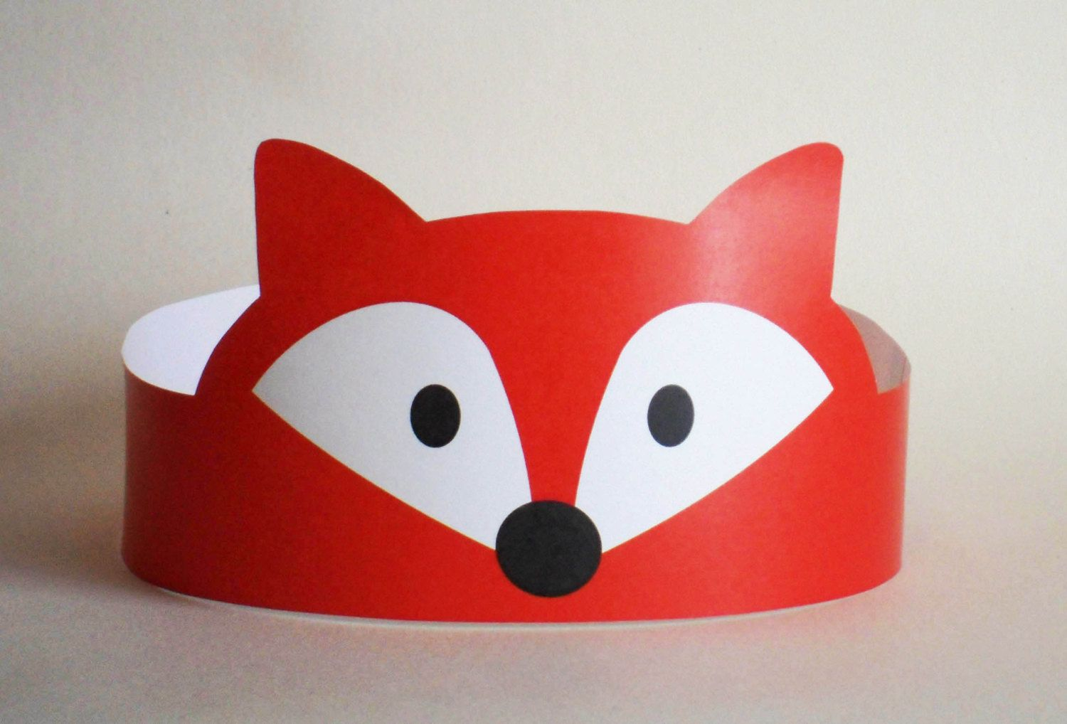 Fox Paper Crown - Printable | Paper, Paper crowns and Crowns