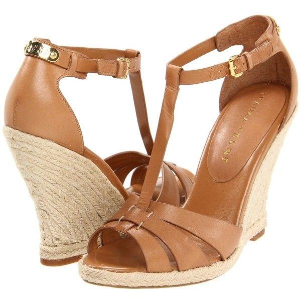 Ivanka Trump Etta ($126) ❤ liked on Polyvore featuring shoes, sandals, heels