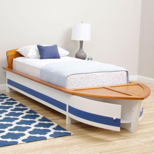 Bonanza Com Starboard Twin Size Boat Bed Bedroom Room Kids