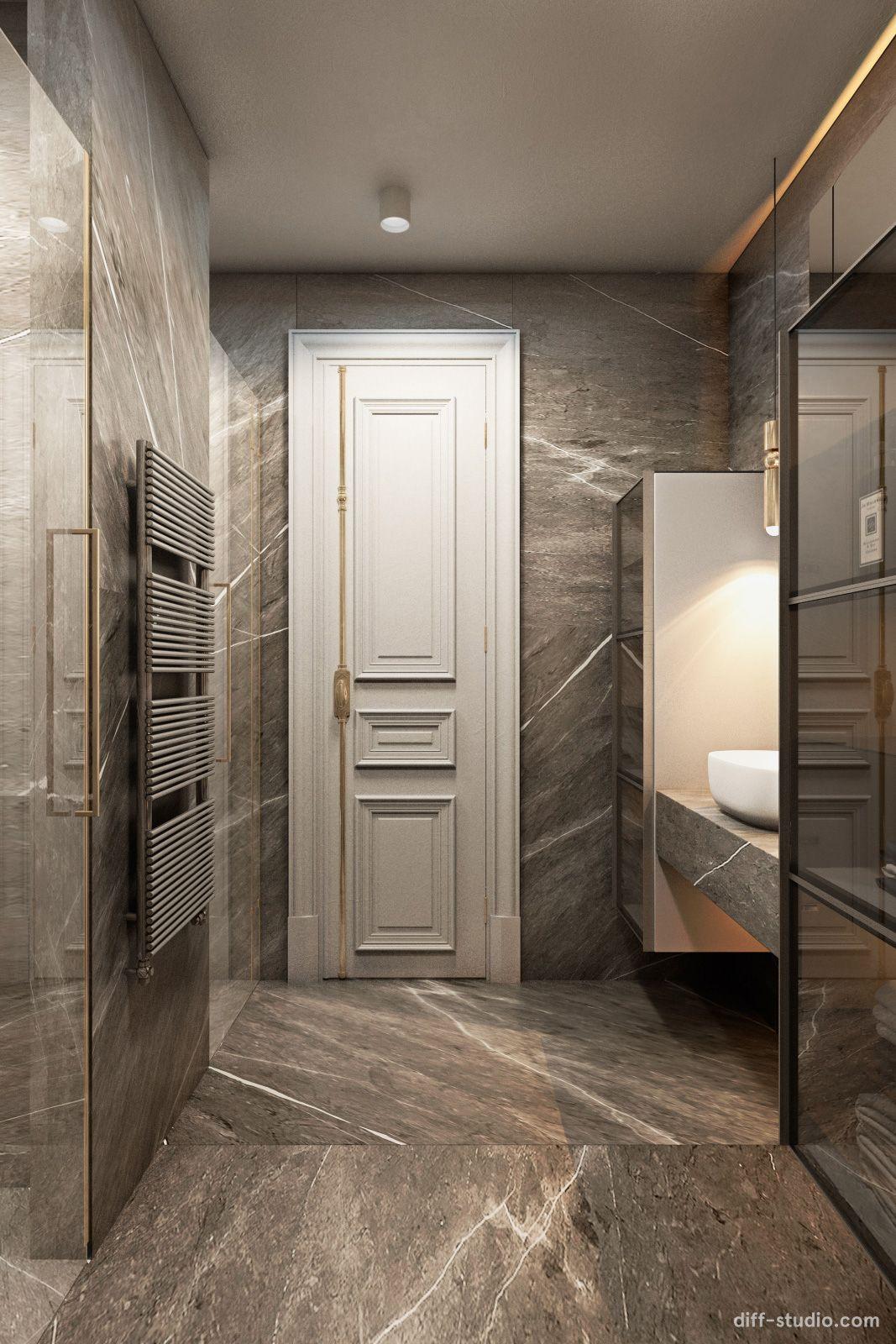 flat-in-london_diff_023 | Bathroom design luxury, Bathroom ...