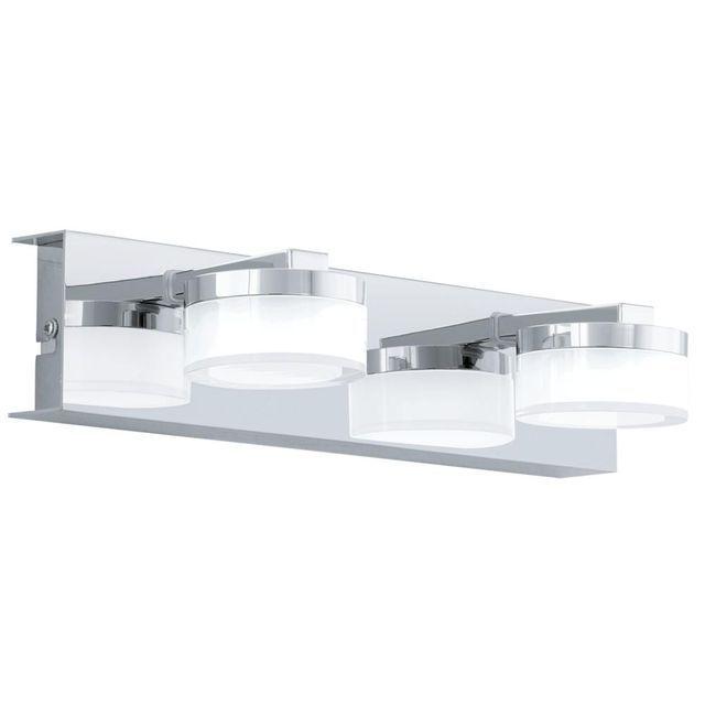 Kinkiet Lazienkowy Led Romendo Eglo Led Flush Mount Eglo Modern Vanity Lighting