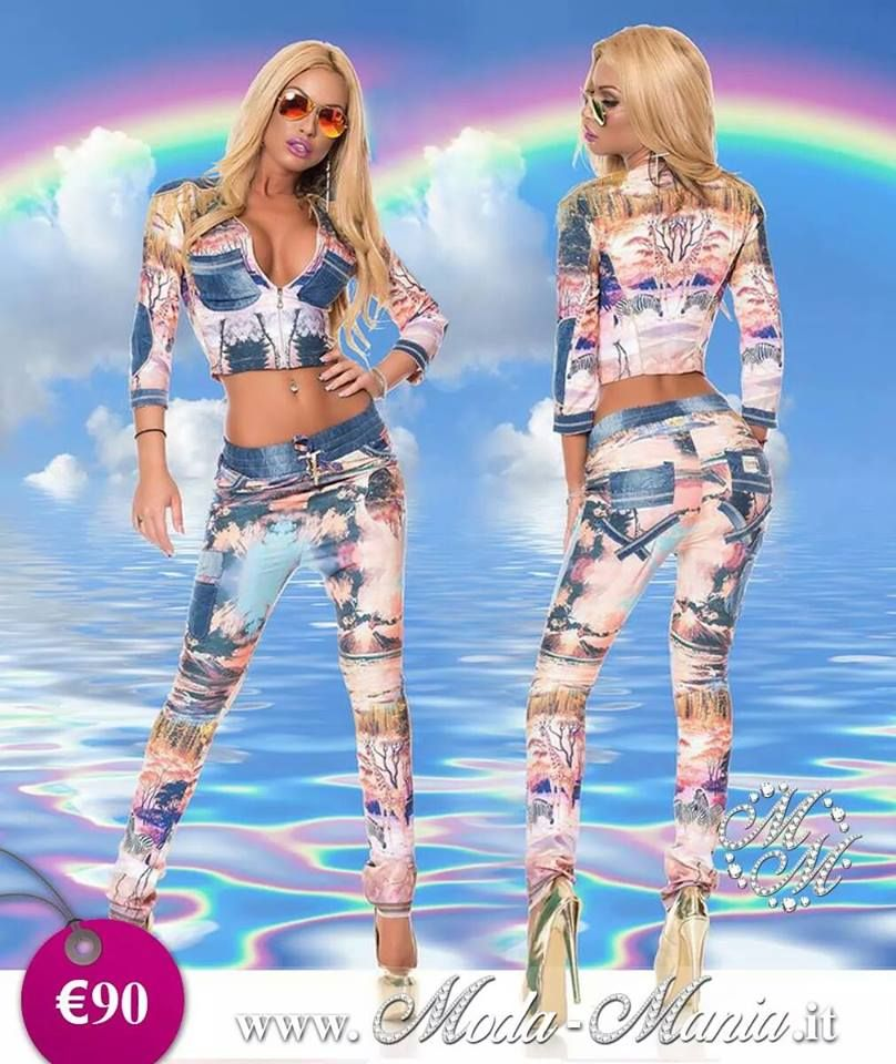 £: Moda Mania Abbigliamento - completo in jeans