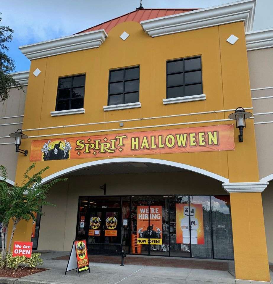 Reminding you...Spirit Halloween is open at the Lake Buena