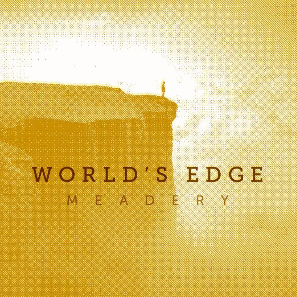 Worlds edge meadowy brand packaging branding poster
