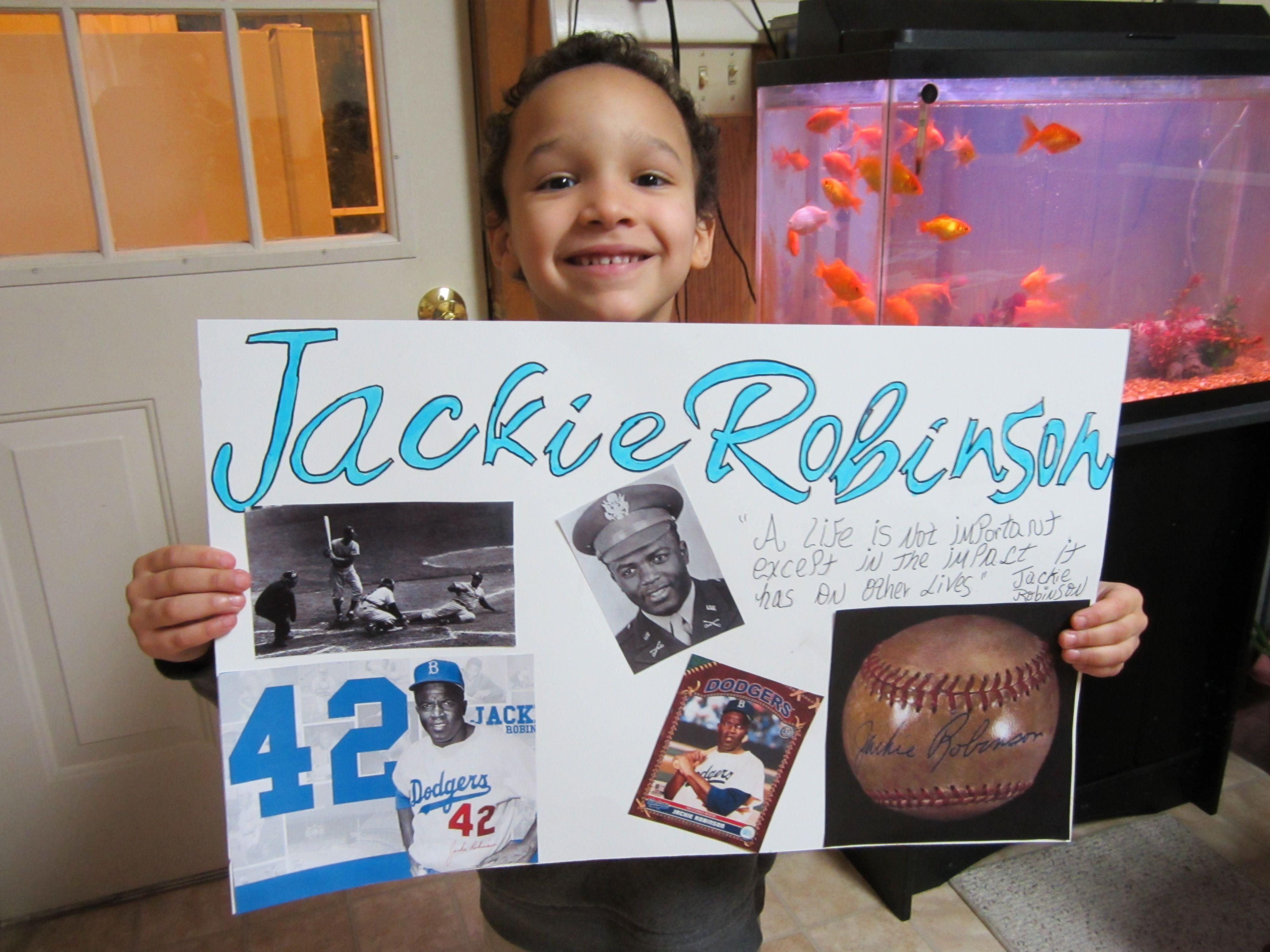 Black History Month Jackie Robinson