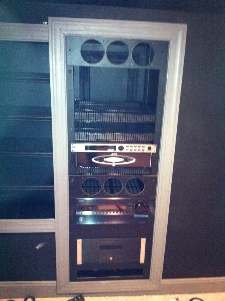***Working Man's DIY Dedicated Home Theater*** Home theater