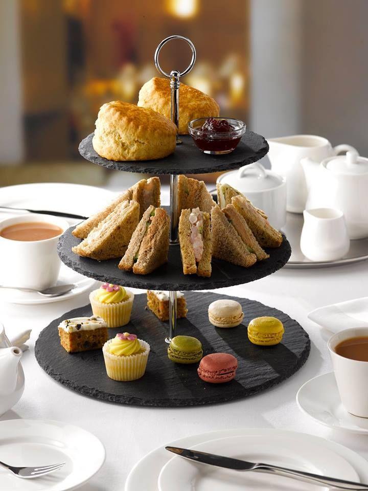 3 tier slate cake stand cake servings afternoon tea 3