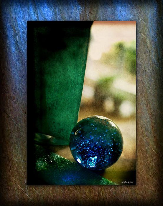 Blown Glass Print By Linda Olsen