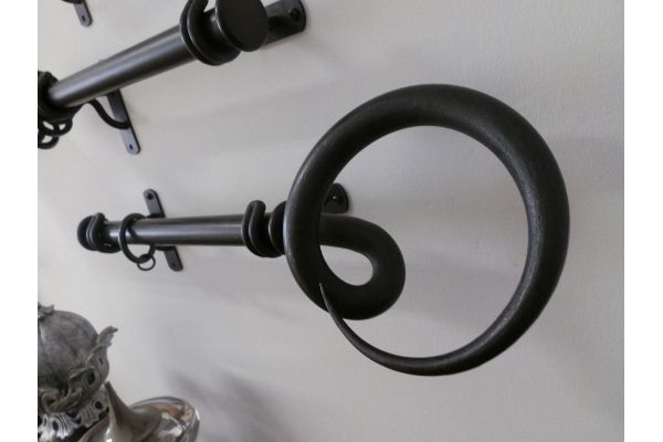 17 best images about Wrought Iron and Steel Curtain poles on ...