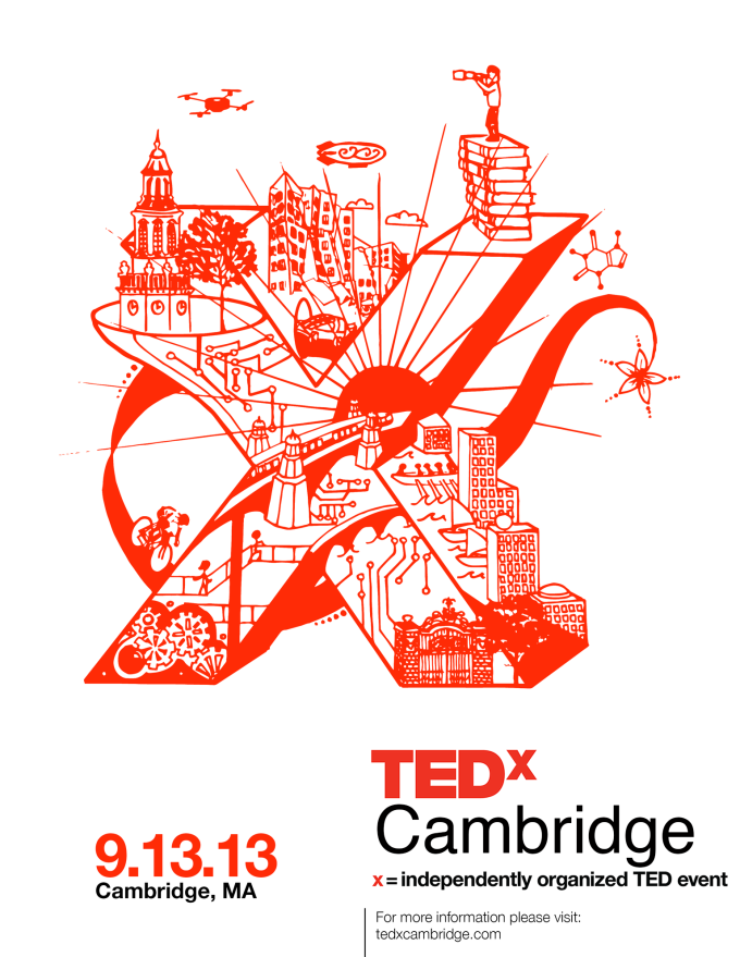 What You Need To Know For Friday Tedxcambridge Tedx Conference Branding Poster Design