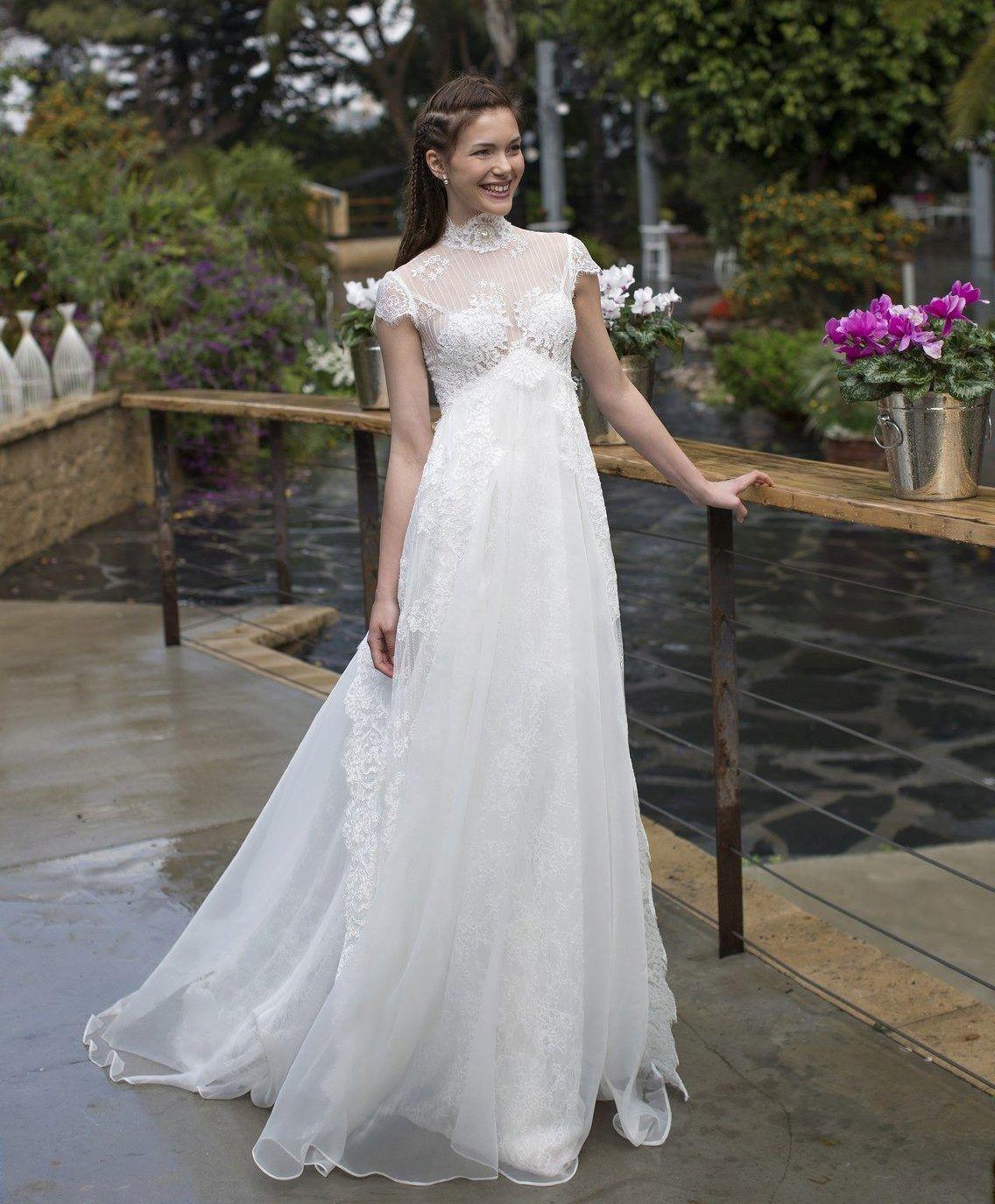 Photo of High Maternity Wedding Dress