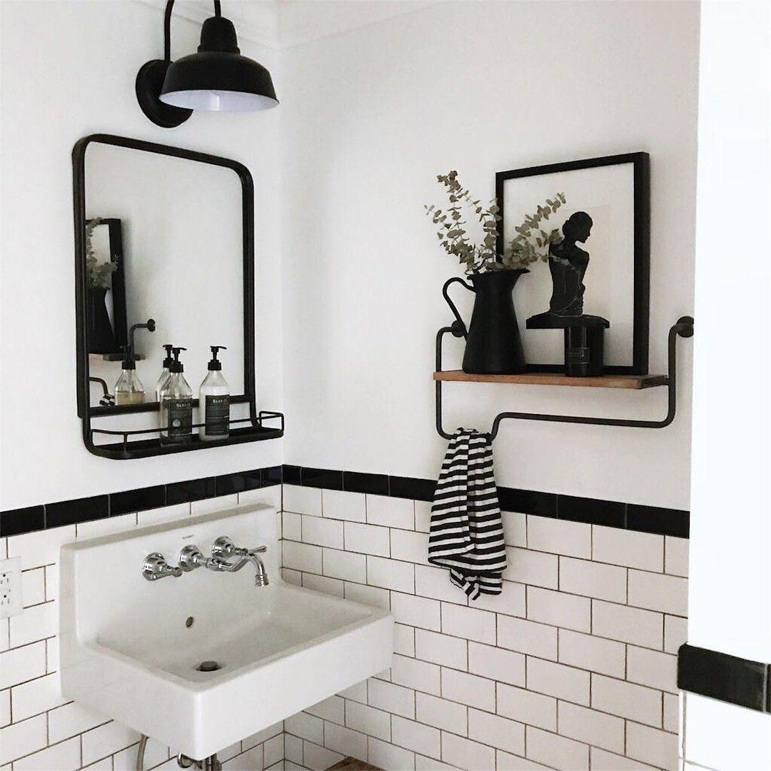 Photo of Home Sweet Farm Home auf Instagram gepostet: Dieses einfache Bad von Dishev … – Bathroom 2