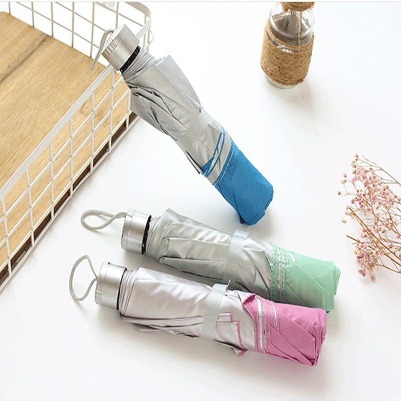 8ea5b80366c4 New Portable Men's Umbrella Mini Pocket Umbrellas Prevent UV ...