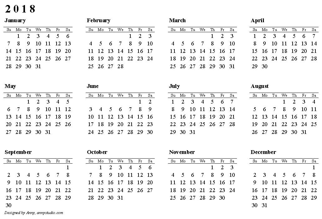 2018 Calendar Pdf De Vizitat Pinterest Bullet Journals Bullet