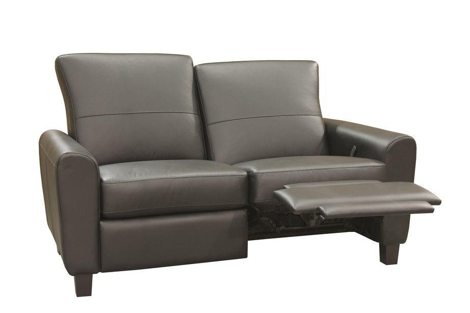 Coja York Reclining Loveseat Leather Reclining Loveseat Love Seat Modern Recliner