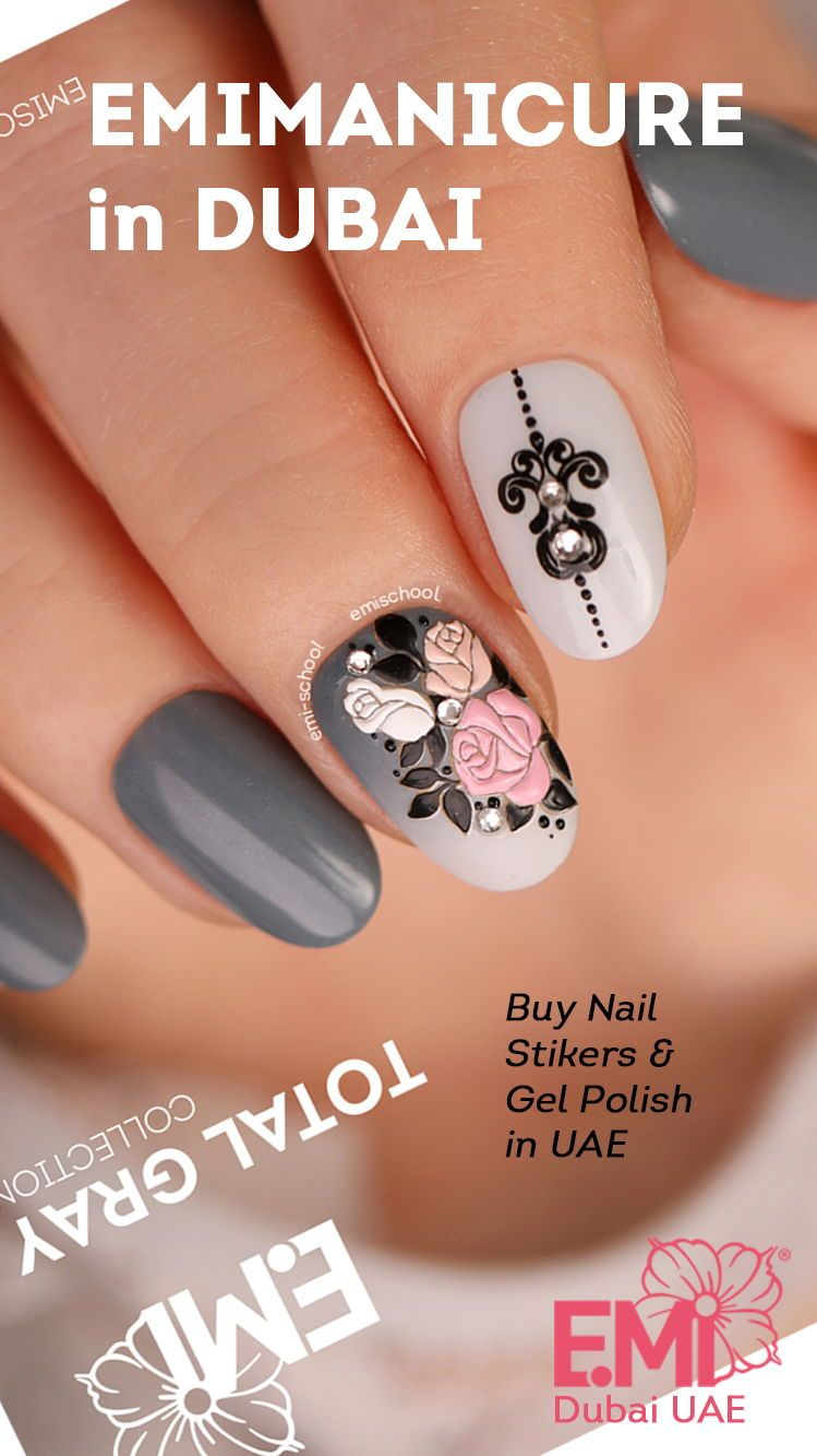 Basic Nail Art Design For Your Nails It Is Easy To Do With Emi