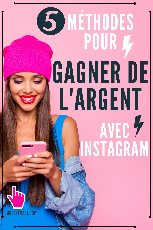 Gagner De L'argent Avec Instagram : gagner, l'argent, instagram, Épinglé, Gagner, L'argent, Internet