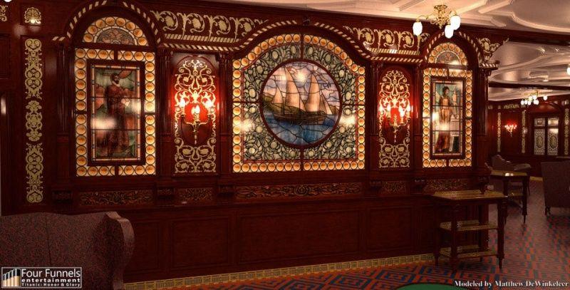 Titanic 1st Class Smoking Room History Titanic
