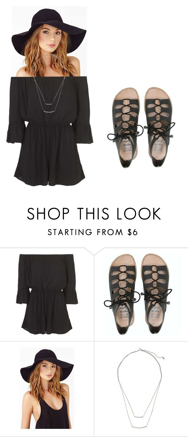 """""""Untitled #48"""" by teenageyouth ❤ liked on Polyvore featuring Topshop, Billabong and H&M"""