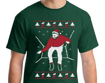 Christmas Bling T-Shirt Funny Ugly Christmas Sweater Pop Culture Meme Rap Humor Holiday Novelty X-Mas Geek Geekery S-3Xl Great Gift Idea