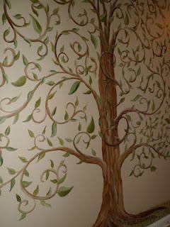 Savard Studios Family Tree Mural Tree Mural Mural