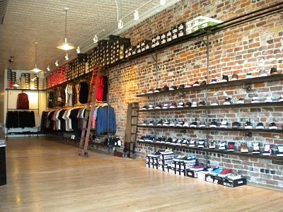 Subsect skate shop shoe wall local favorites humans and for Bureau skate shop