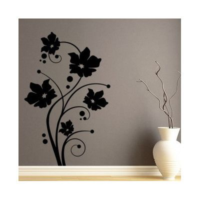 "Style and Apply Fresh Tendril Wall Decal Size 59"" H x 38"
