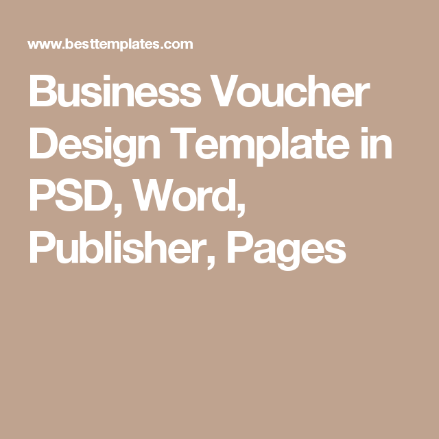 coupon template publisher